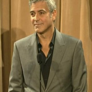 George Clooney at 2012 Oscar Luncheon (Video)