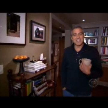 George Clooney's Dog Einstein on CBS Person to Person