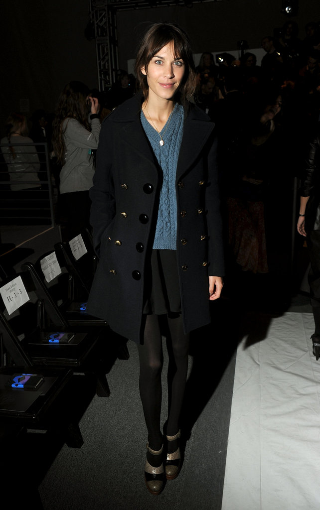 Alexa Chung went to Honor.