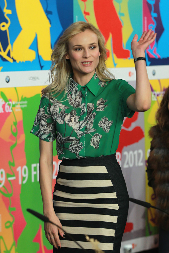 Diane Kruger chatted up her new movie.