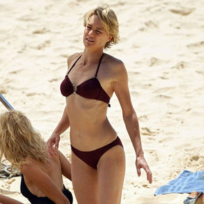 Naomi Watts Bikini With Robin Wright Pictures