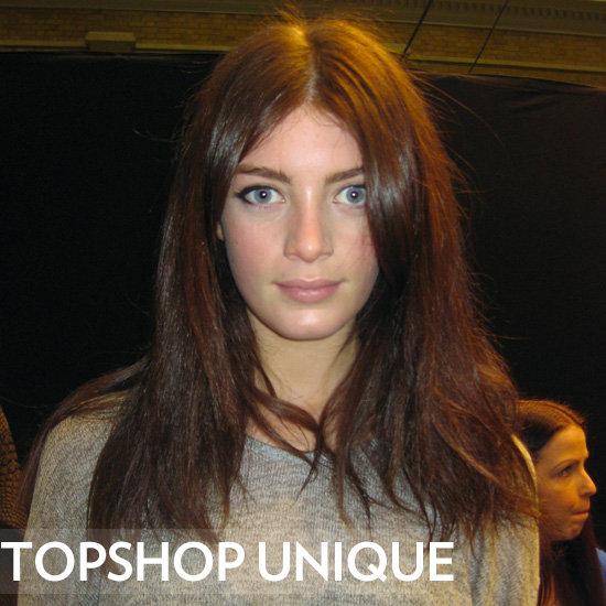 Topshop Unique Autumn/Winter 2012 Beauty Report