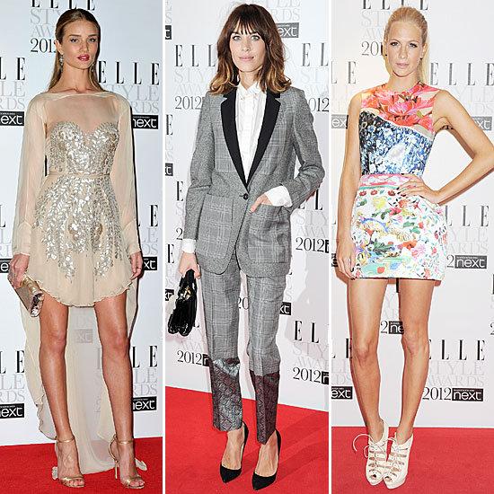 Elle Style Awards Red Carpet 2012