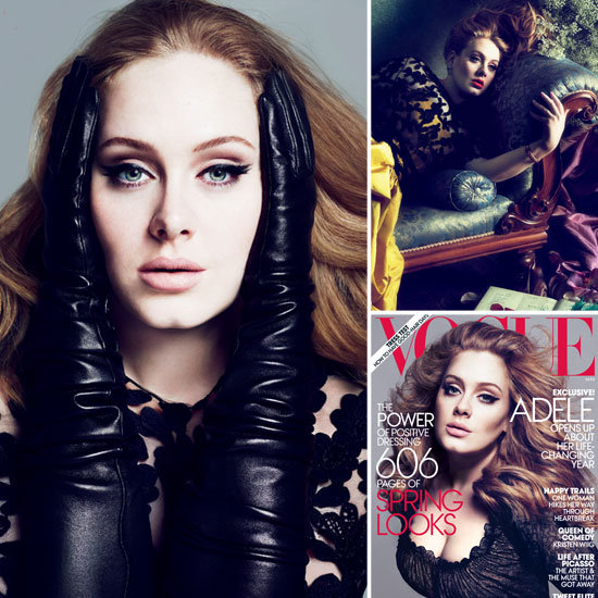 Adele Covers Vogue March 2012 Issue