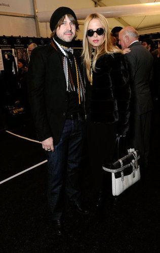 Rachel Zoe and Rodger Berman made the NYFW rounds.