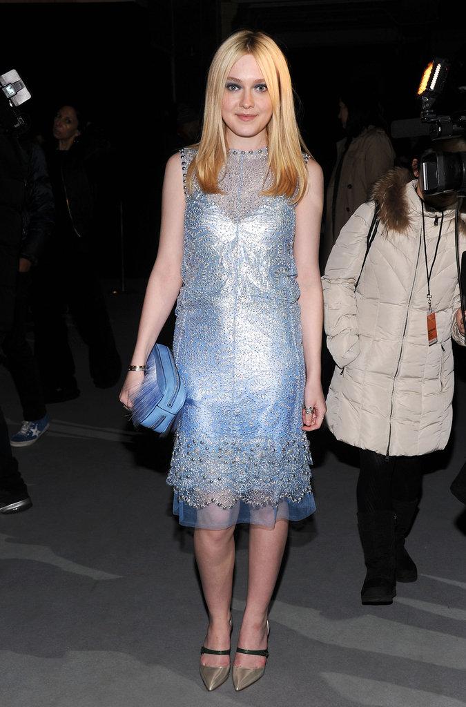 Dakota Fanning went to Marc Jacobs.