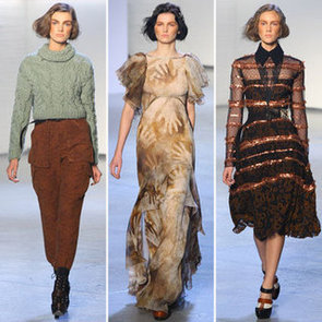 Review and Pictures of Rodarte 2012 Fall New York Fashion Week Runway Show