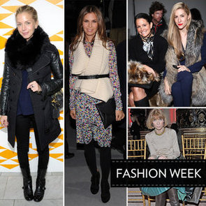 See What the Fashion Editors Wear Front Row to Fall 2012 New York Fashion Week