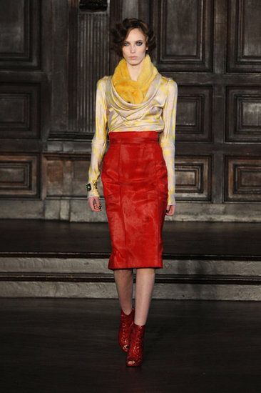 L'Wren Scott Runway 2012 Fall