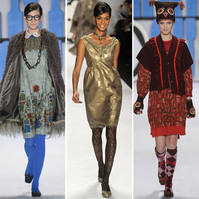 Review and Pictures of Anna Sui 2012 Fall New York Fashion Week Runway Show