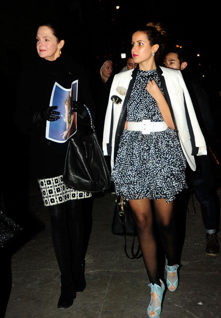 New York Fashion Week Street Style Fall 2012