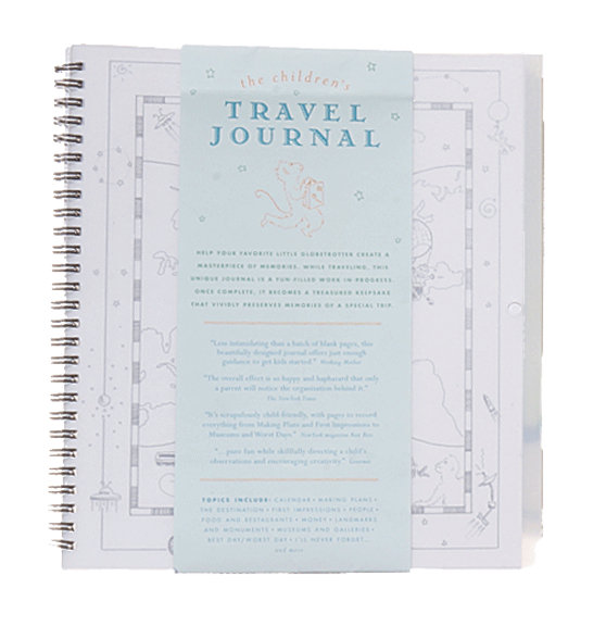 The Children's Travel Journal ($15)