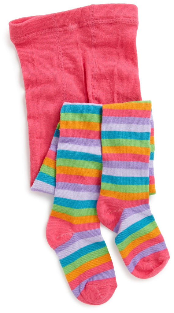 Jacques Moret Girls Striped Sweater Tights ($10)