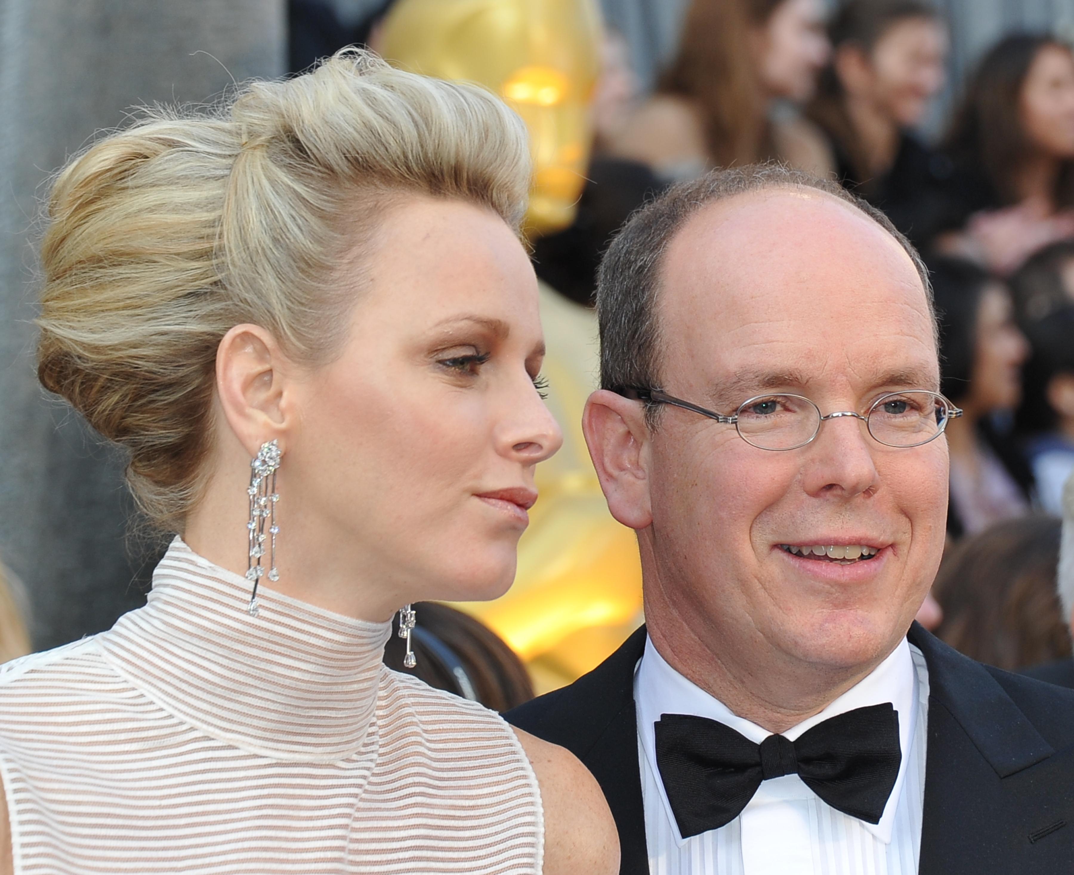 Prince Albert and Charlene Wittstock