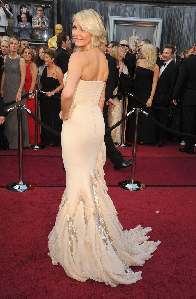 Cameron Diaz at the Oscars.