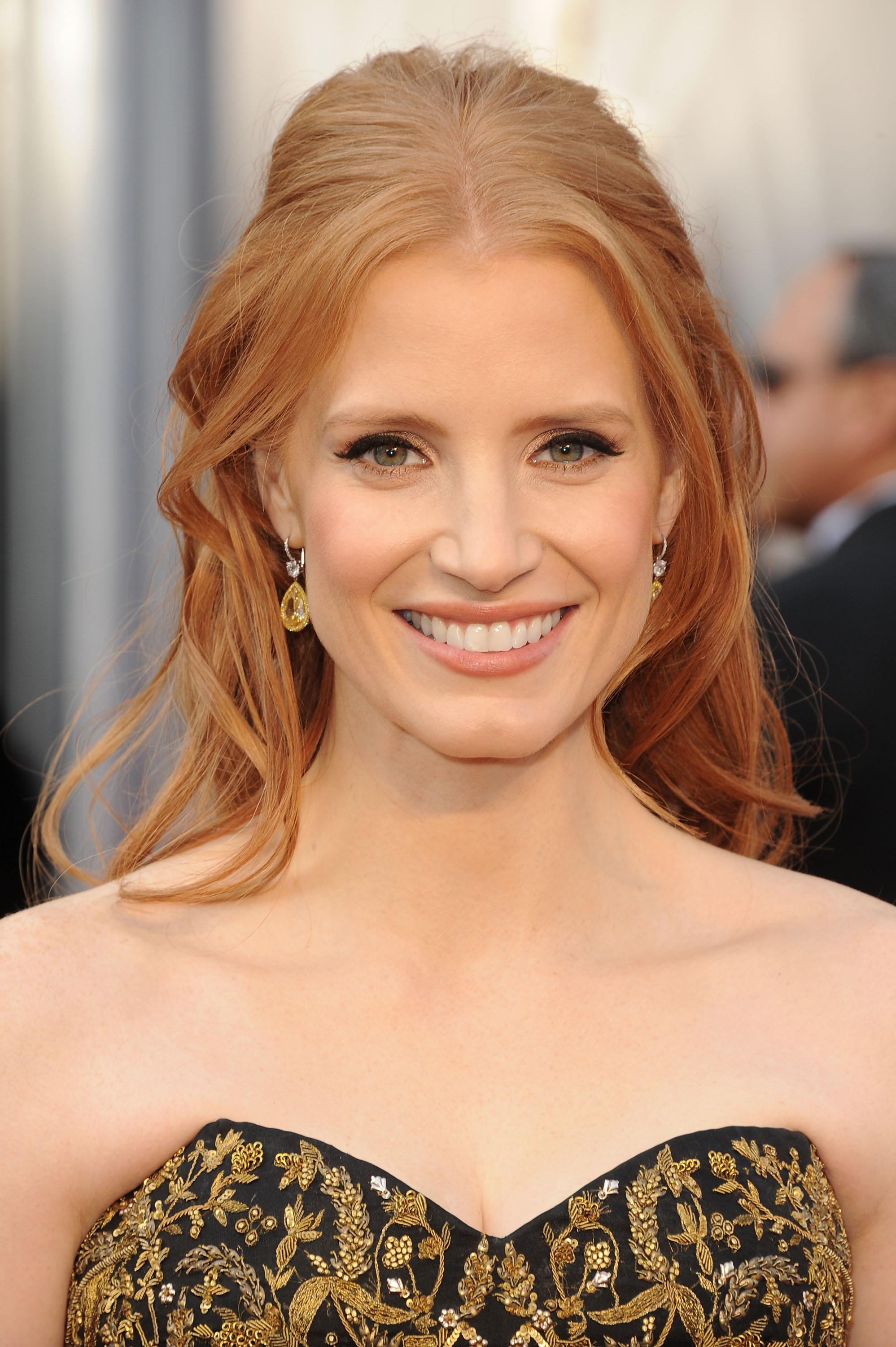 Jessica Chastain wore $2 million of diamonds to the Oscars ... Jessica Chastain Movies