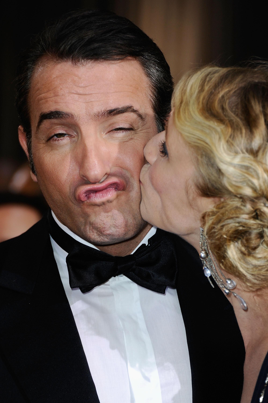 Jean dujardin and alexandra lamy oscar couples shine at for Jean dujardin sex