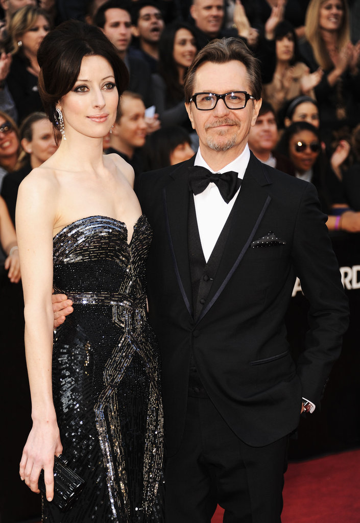 Gary Oldman and Alexandra Edenborough