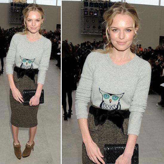 Kate Bosworth at London Fashion Week