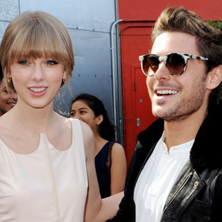 Zac Efron and Taylor Swift at The Lorax Premiere (Video)