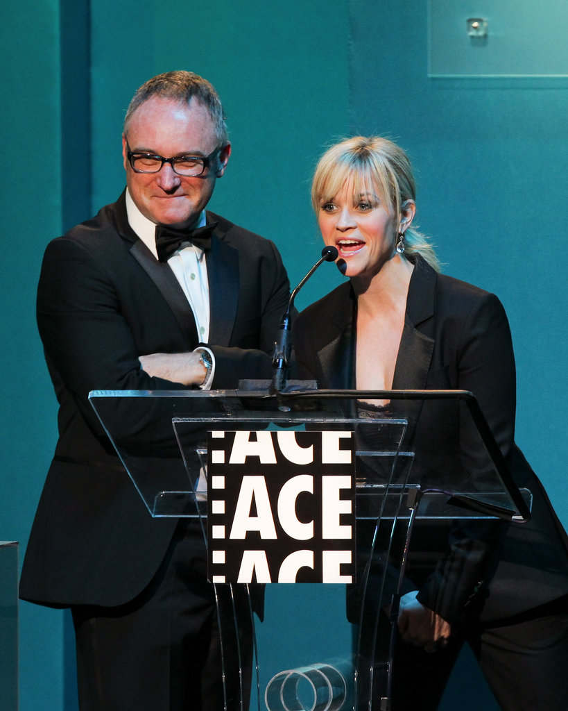 Reese Witherspoon spoke at the ACE Awards.