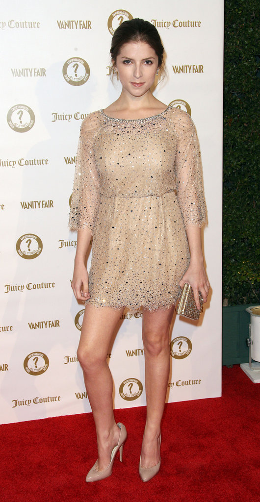 Anna Kendrick attended a Vanity Fair and Juicy Couture bash in LA.