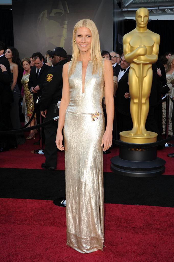 Gwyneth Paltrow at the 2011 Academy Awards