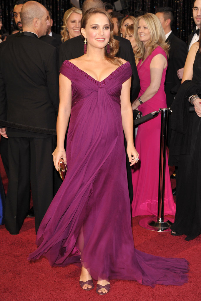 Natalie Portman at the 2011 Academy Awards