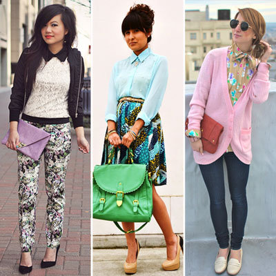 Styling Tip: Wear Bright Floral Prints