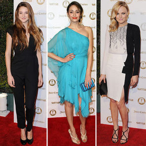 Pictures of Celebrities on the Red Carpet at the Vanity Fair Vanities Party Shailene Woodley, Emmy Rossum, Malin Akermnan & More