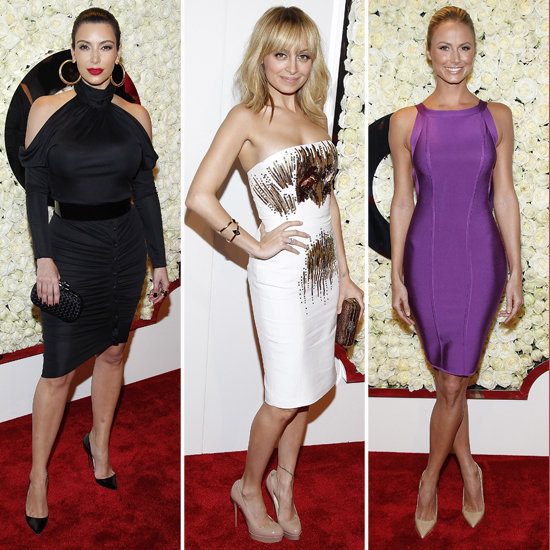 Kim Kardashian and Nicole Richie QVC Event Pictures