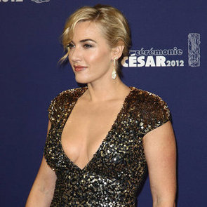 Kate Winslet in Sequin Gown at Cesar Awards