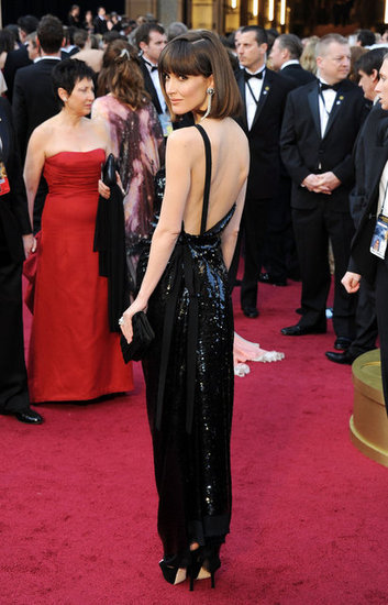 Rose Byrne's dress had a seriously sexy back.