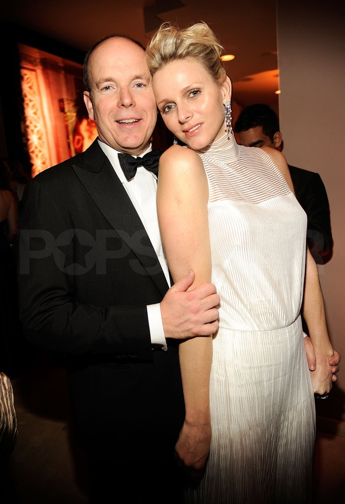 Princess Charlene and Prince Albert II of Monaco