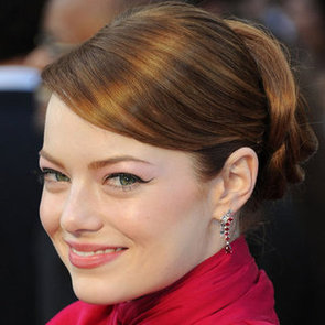 Emma Stone's Hair and Makeup at the 2012 Oscars