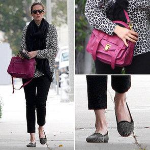 Mandy Moore Proenza Schouler Bag