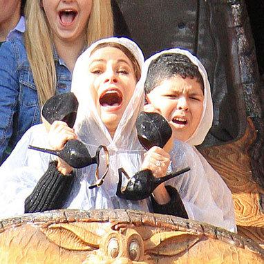 Sofia Vergara Filming Modern Family at Disneyland Pictures