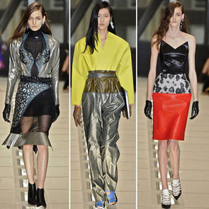 Review and Pictures of Balenciaga Autumn Winter 2012 Milan Fashion Week Runway Show