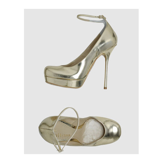Heels, approx $432, John Galliano at YOOX