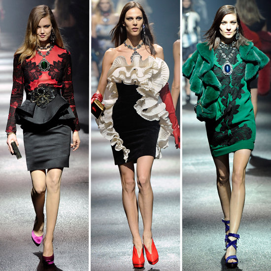 Review and Pictures of Lanvin Autumn Winter 2012 Paris Fashion Week Runway Show