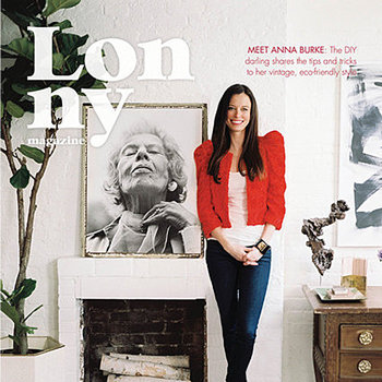 Lonny Magazine March/April Issue, Domino Quick Fixes, TradHome