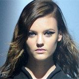 Montana Cox Lanvin Makeup Pictures at Paris Fashion Week