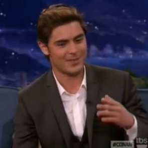 Zac Efron Talks Older Aggressive Female Fans on Conan