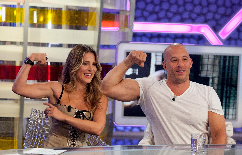 Vin DieselVin Diesel Muscles 2012