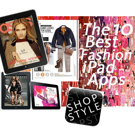 Top Ten Fashion iPad Apps to Celebrate the Release of Apple's New iPad Today! UK Vogue, Shopstyle,
