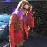 Lindsay Lohan With Red Hair Video