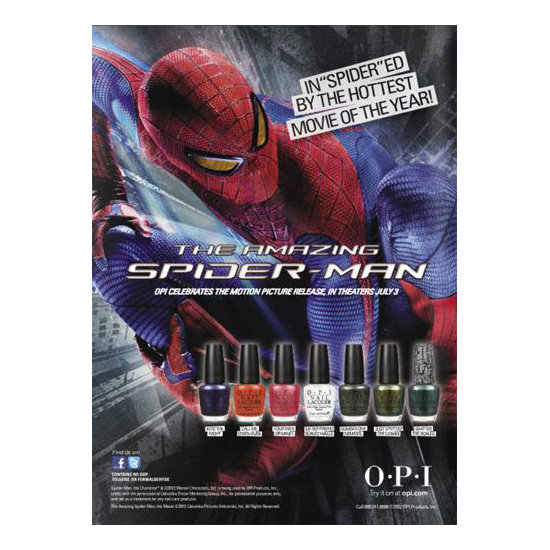 First Look: OPI The Amazing Spider-Man Collection