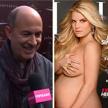 John Varvatos Talks Jessica Simpson's Naked Elle Cover