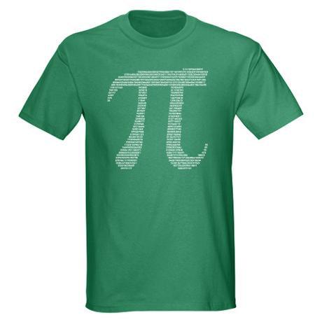 Pi T-Shirt ($25)