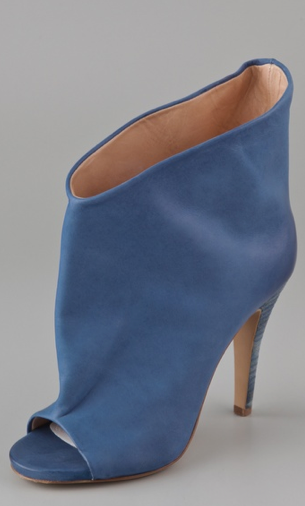 The muted blue color makes us swoon. Maison Martin Margiela high heel bootie ($835)